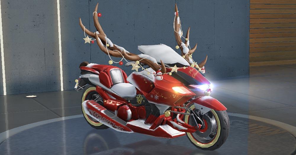 荒野行動クリスマス限定 乗り物スキン