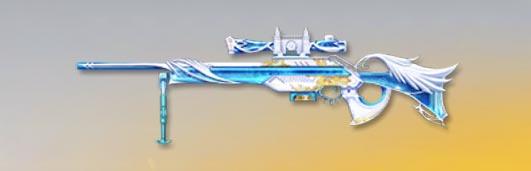 荒野行動 武器スキン CS LR4 氷晶の聖域 先鋒版