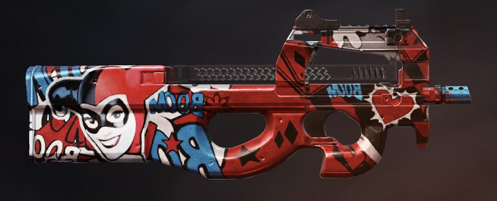 荒野行動DCコラボ第2弾 銃器スキン