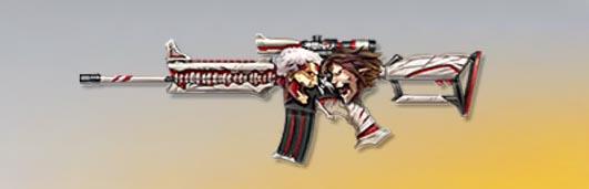 荒野行動 武器スキン M16A4 信念の戦い 先鋒版