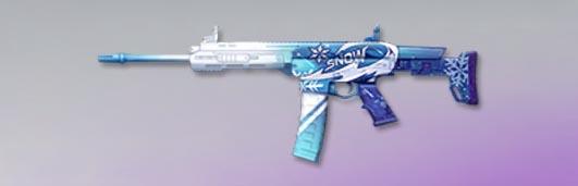 荒野行動 武器スキン S-ACR 雪域の規律