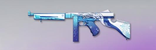 荒野行動 武器スキン トンプソン 雪域の規律