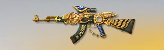荒野行動 武器スキン AK-47 神斧リッタ Lv1