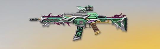 荒野行動 武器スキン HK50 魔剣ロストヴェイン Lv1