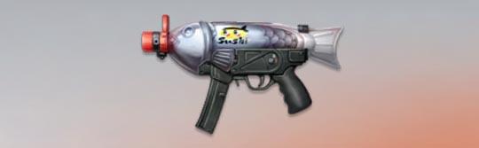 荒野行動 武器スキン MP5 ミニしょうゆ