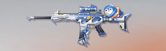 荒野行動 武器スキン S-ACR ぽこぽこペンギン
