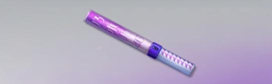 荒野行動 シャベル サイリウム(紫)