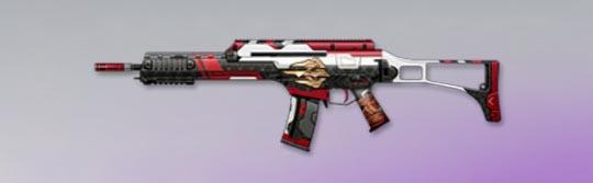 荒野行動 武器スキン HK50 乱世の豪傑
