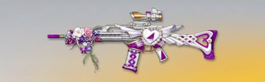荒野行動 武器スキン HK50 乃木坂ハッピーバレンタイン 先鋒版