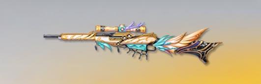 荒野行動 武器スキン M1891 春の蝶の妖精 先鋒版