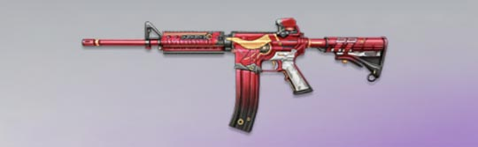 荒野行動 武器スキン M4A1 丑年の新春