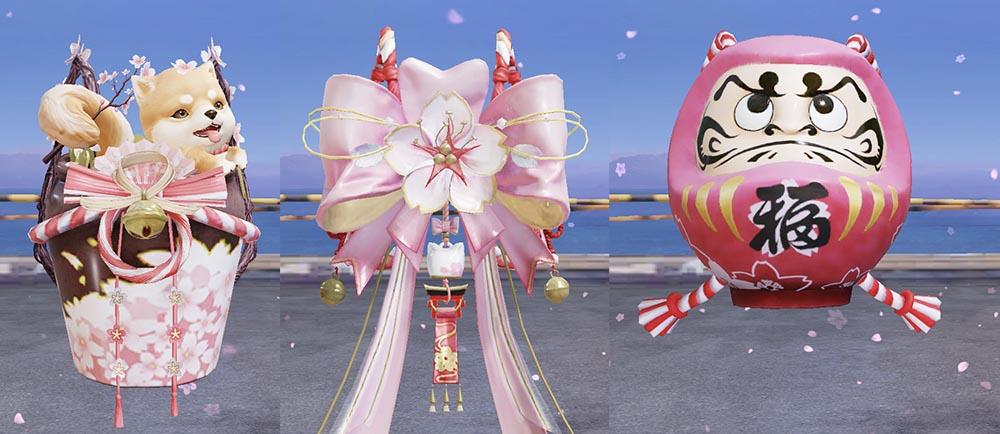 荒野行動 桜祭り アイテム