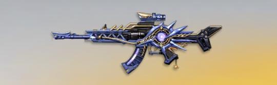 荒野行動 武器スキン AKAlpha 銀河の聖歌 先鋒版