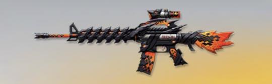 荒野行動 武器スキン M16A4 火竜の咆哮 先鋒版